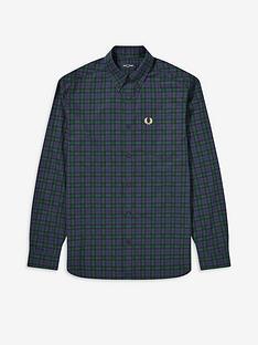 fred-perry-winter-tartan-shirt