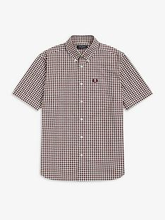 fred-perry-gingham-short-sleeve-shirt