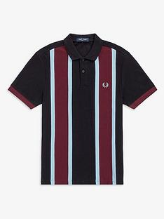 fred-perry-vertical-stripe-polo-shirt