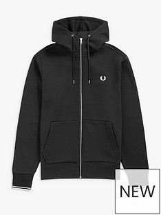 fred-perry-hooded-zip-through-sweatshirt