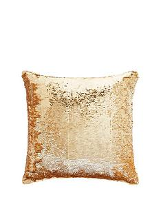tess-daly-sequin-gold-cushion