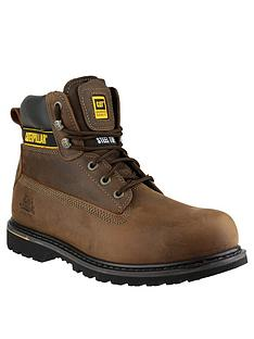 cat-holton-safety-boots-brown