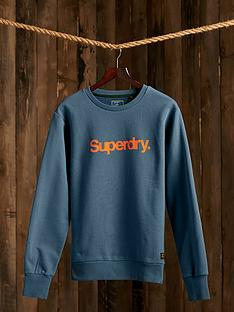 superdry-logo-crew-neck-sweatshirt-blue