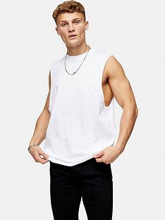 topman-cobra-crew-neck-vest-white