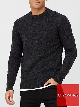 superdry-harlo-crew-neck-knit-jumper-black