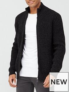 superdry-downhill-zip-through-cardigan-black