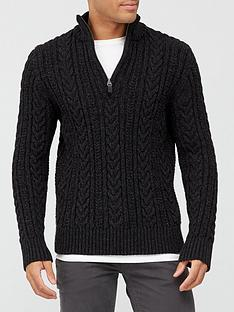 superdry-jacob-henley-jumper-black