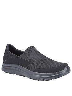 skechers-workwear-flex-advantage-trainers-black