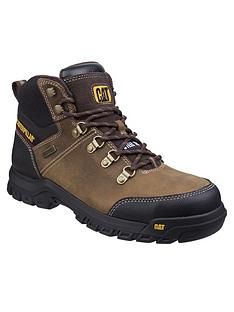 cat-framework-safety-boots-brown