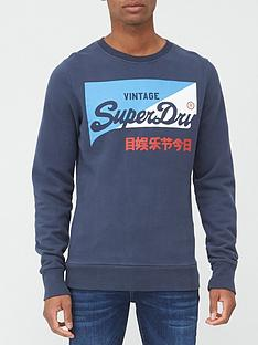 superdry-vintage-label-primary-crew-sweatshirt-navynbsp