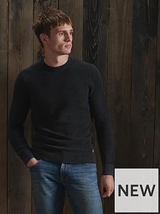 superdry-academy-dyed-texture-crew-neck-jumper-black