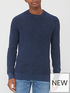 superdry-academy-dyed-texture-crew-neck-jumper-navy