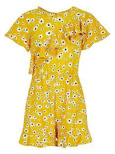 river-island-mini-girls-floral-asymmetric-frill-playsuit-yellow