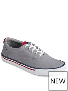 sperry-striper-canvas-plimsolls-grey