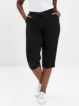 evans-linen-cropped-trousers
