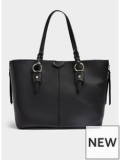 topshop-triple-plait-tote-bag-blacknbsp