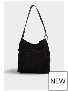 topshop-lena-leather-hobo-bag-black