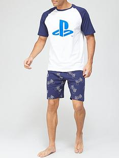 very-man-playstationnbsppyjama-set-bluewhite