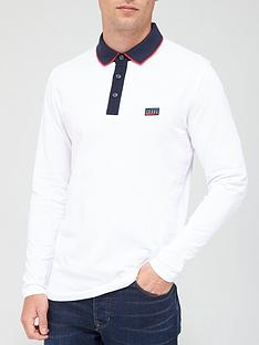 jack-jones-charmin-long-sleeve-polo-white