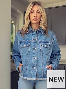 topshop-raw-hem-oversized-denim-jacket-blue