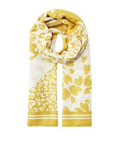 joules-river-scarf-gold