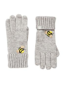 joules-stafford-gloves-grey