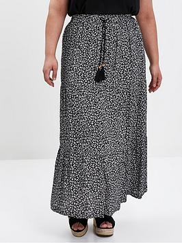 evans-animal-print-maxi-skirt-black