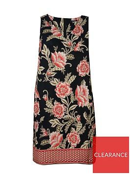 evans-floral-shift-dress--nbspblacknbsp