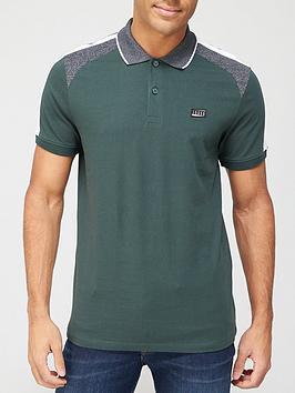 jack-jones-thomas-colour-block-polo-shirt-darkest-spruce