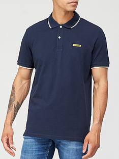 jack-jones-london-rubber-logo-polo-shirt-navy