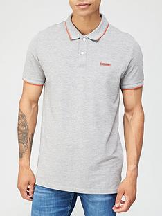 jack-jones-london-rubber-logo-polo-shirt-light-grey-marl