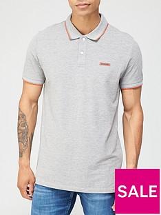 jack-jones-london-rubber-logo-polo-shirt-light-grey-marl