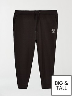 jack-jones-plus-slim-fit-joggers-black