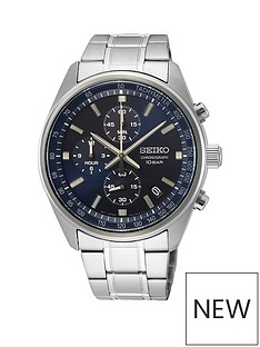 seiko-seiko-blue-sunray-chronograph-dial-stainless-steel-bracelet-mens-watch