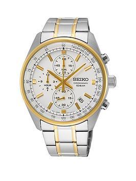 seiko-seiko-silver-and-gold-detail-chronograph-dial-two-tone-stainless-steel-bracelet-mens-watch