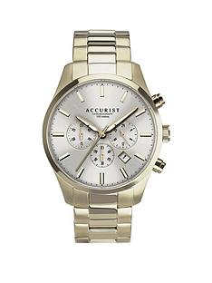 accurist-accurist-silver-sunray-chronograph-dial-gold-stainless-steel-bracelet-mens-watch