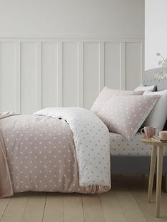 catherine-lansfield-brushed-cotton-spot-duvet-cover-set