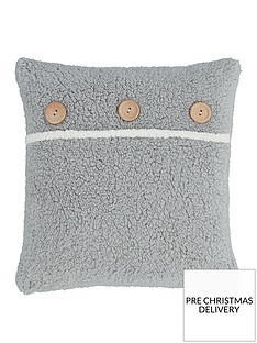 catherine-lansfield-so-soft-buttoned-sherpa-cushion