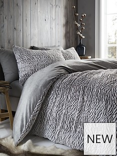 catherine-lansfield-faux-fur-wolf-duvet-cover-set