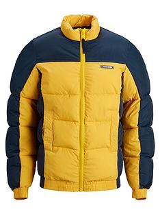 jack-jones-junior-boys-colourblock-funnel-neck-padded-coat-navy