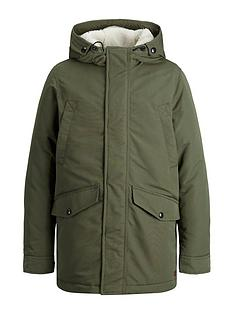 jack-jones-junior-boys-water-repellent-hooded-parka-olive