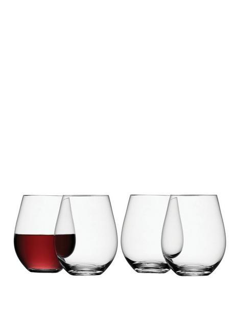 lsa-international-stemless-red-wine-glasses-ndash-set-of-4