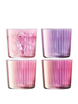 lsa-international-lsa-international-gems-tumbler-glasses-set-of-4
