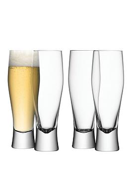 lsa-international-bar-handmade-lager-glasses-ndash-set-of-4