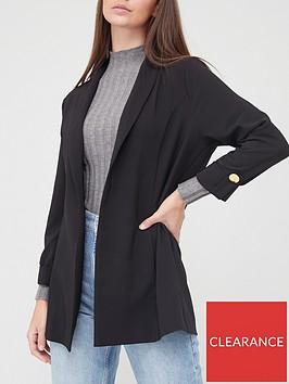 v-by-very-tab-sleeve-edge-to-edge-jacket-black