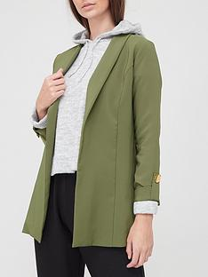 v-by-very-tab-sleeve-edge-to-edge-jacket-khaki