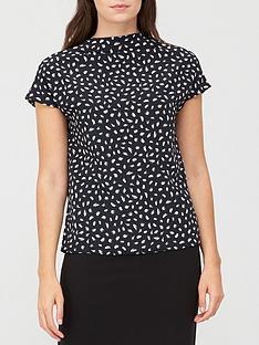 v-by-very-printed-cap-sleeve-blouse-print