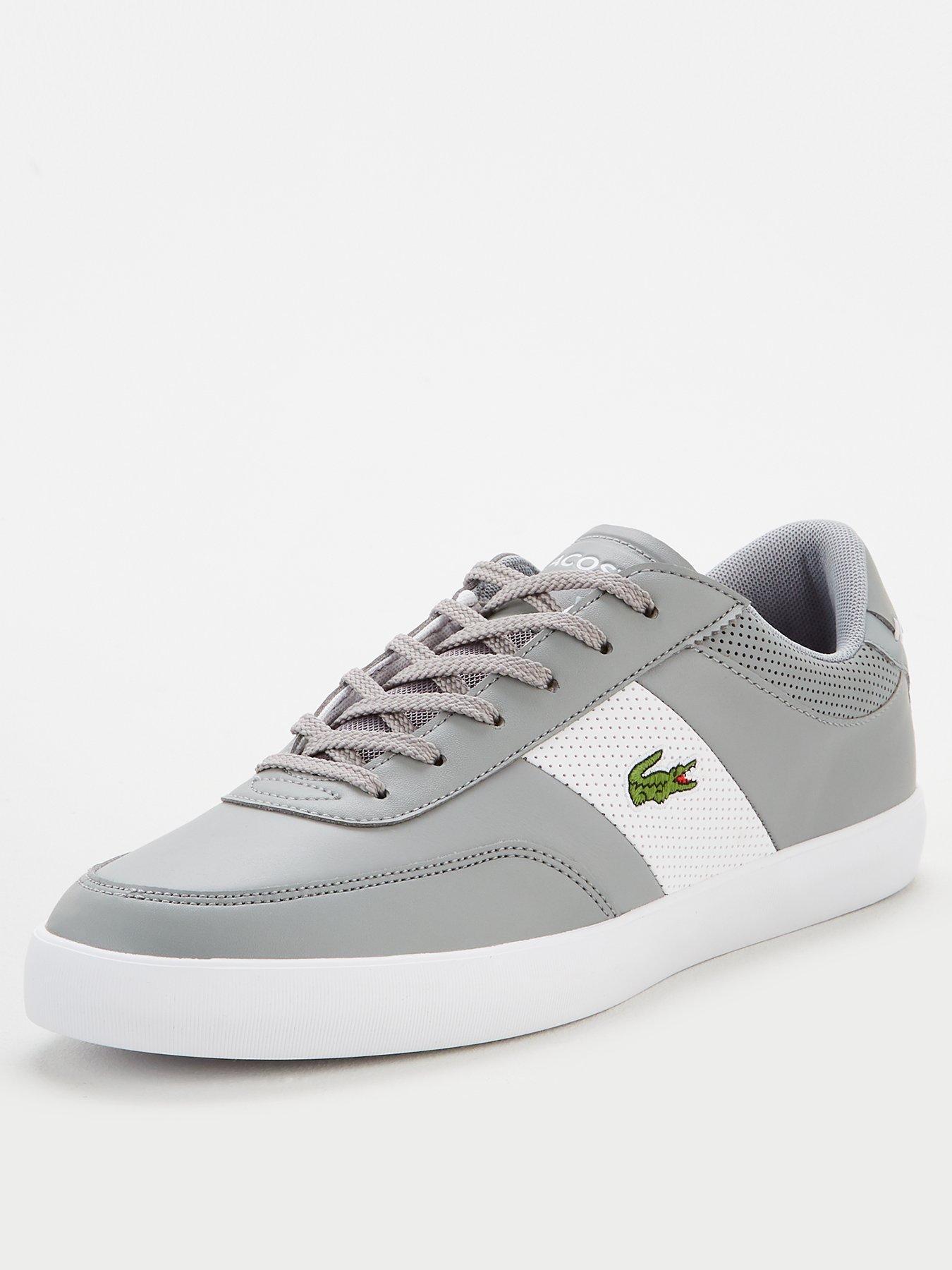 Grey | Lacoste | Trainers | Men | www