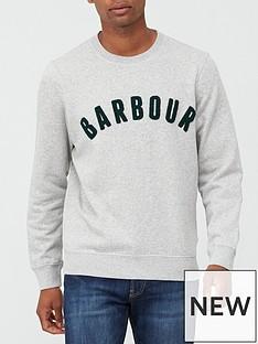 barbour-prep-logo-crew-neck-sweatshirt-grey-marlnbsp