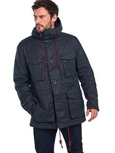 barbour-ordel-wax-jacket-navy